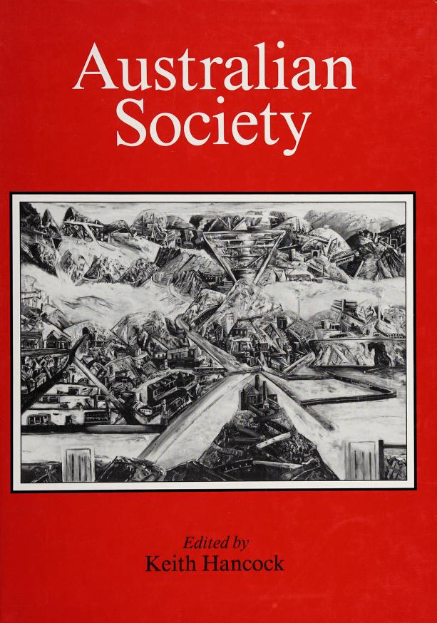 Australian society by edited by Keith Hancock.