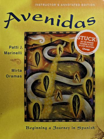 Cover of: Avenidas | Patti J. Marinelli, Mirta Oramas