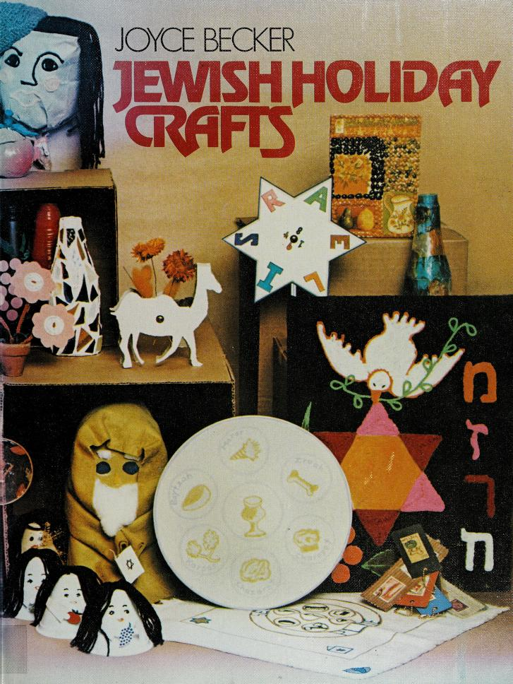 Jewish holiday crafts by Joyce Becker