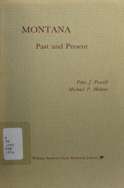 Cover of: Montana, past and present | Peter J. Powell