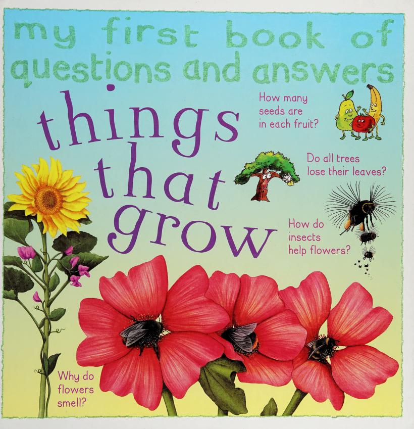 Things that grow by Sue Nicholson