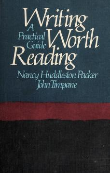 Cover of: Writing worth reading | Nancy Huddleston Packer